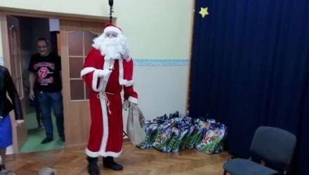 Niezwykły gość -  święty Mikołaj