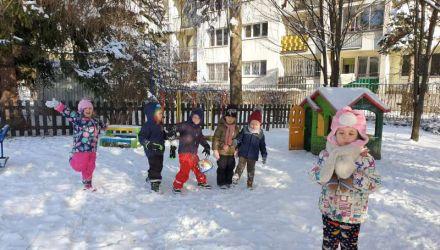 Zimowe zabawy Serduszek