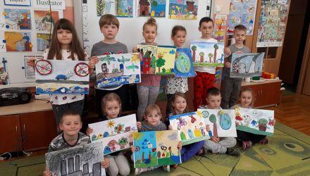 """Wyniki konkursu plastycznego """"Dzieci tworzą dla klimatu"""""""